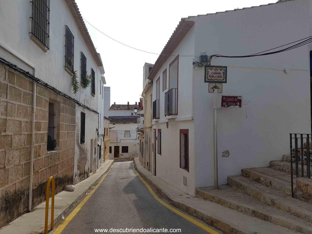 Barrio de Roques, castillo de Dénia