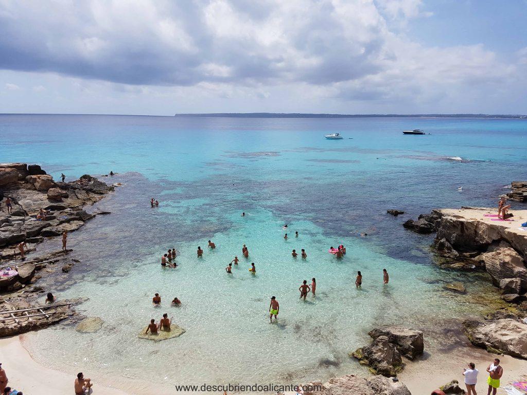 Calo des Morts, Formentera