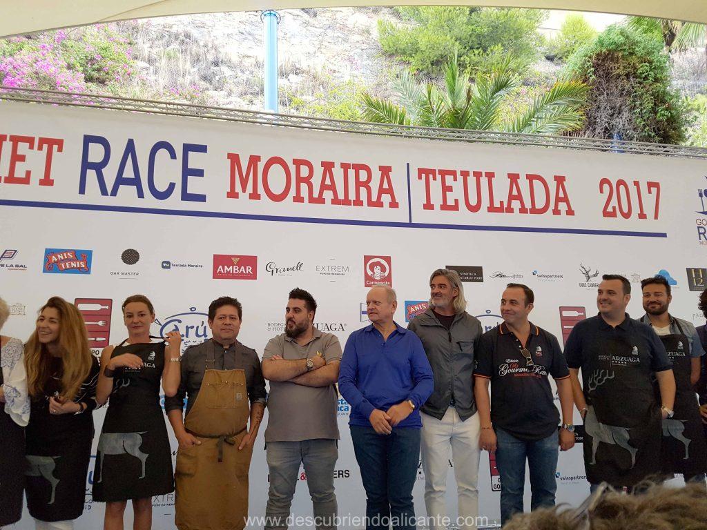 Jurado Gourmet Race Moraira 2017