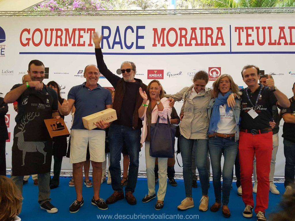 Gourmet Race Moraira 2017 Primer Premio