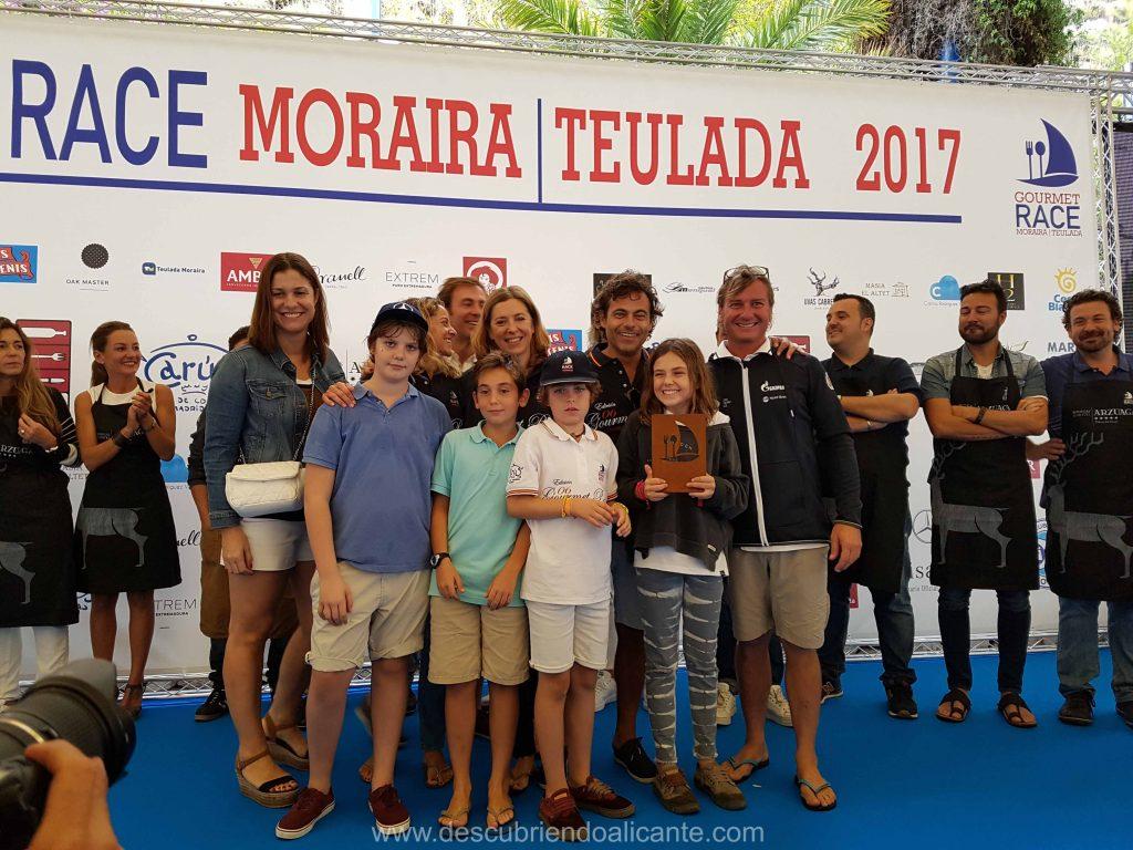 Gourmet Race Moraira 2017 Tercer Premio