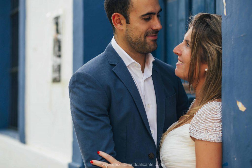 Sesión de Fotos de boda en Tabarca