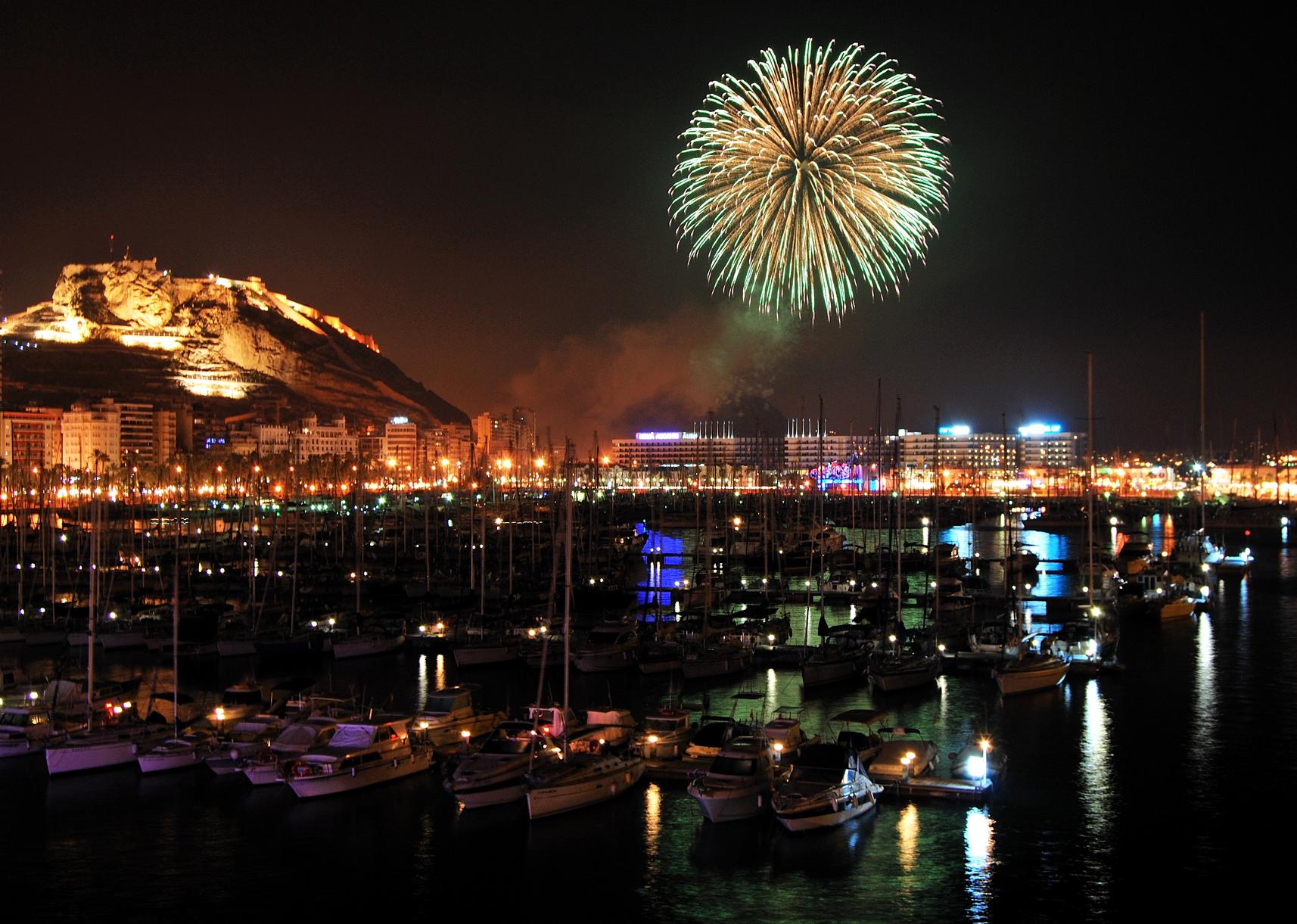 Fireworks Alicante Kasa25 Hogueras San Juan Fogueres Schedule