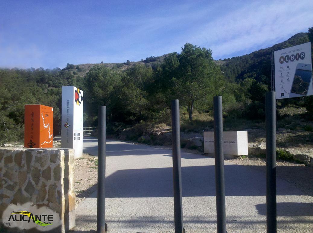 Inicio de la Ruta al Faro del Albir