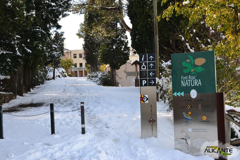 Parque Natural Font Roja Alicante