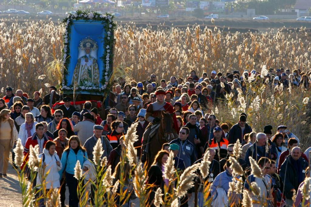 Romería-Elche-Santa-Pola-Venida-de-la-Virgen
