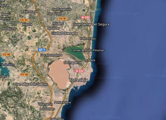 mapa-laguna-salada-torrevieja