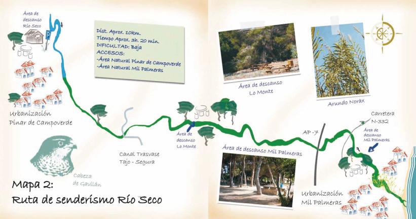 mapa-ruta-rio-seco-pilar-de-la-horadada-alicante
