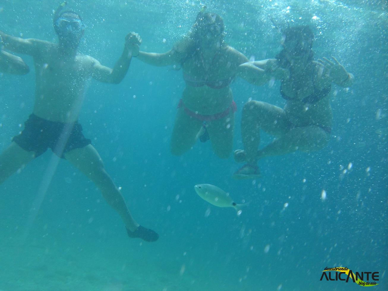 Snorkel en la Costa Blanca, Calpe