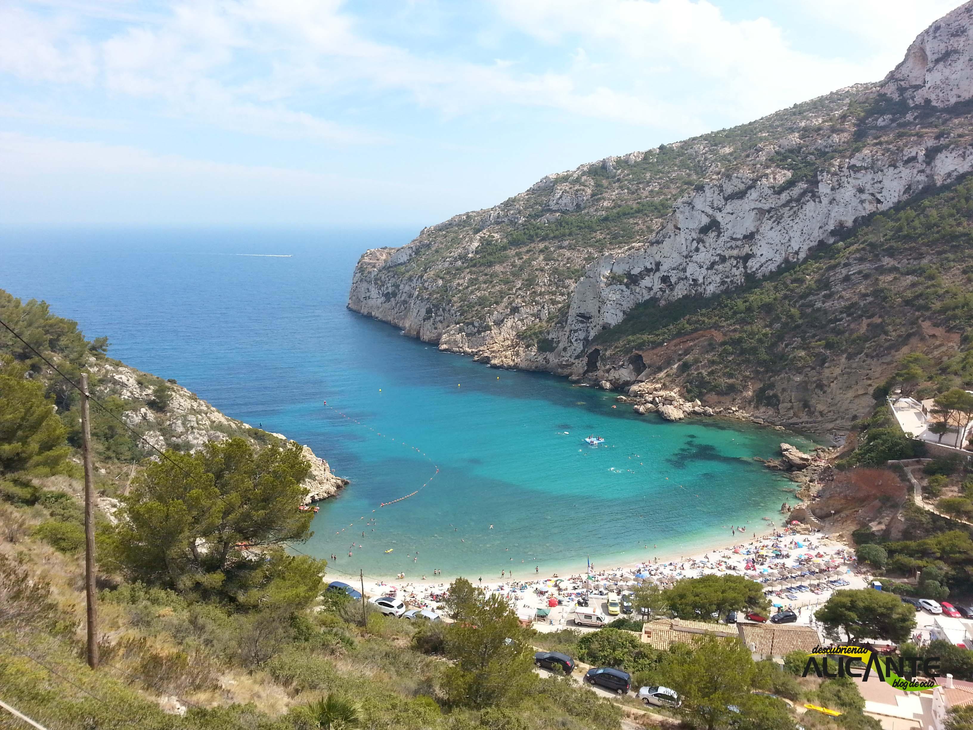 Cala Granadella Jávea Descubriendo Alicantedescubriendo Alicante