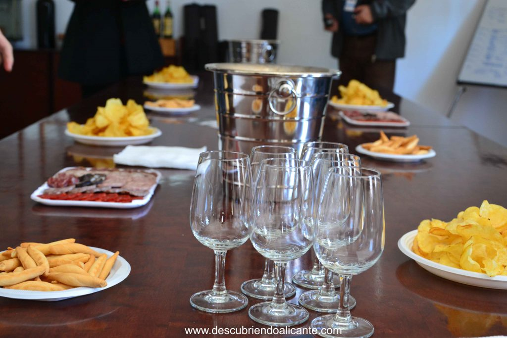 Cata de vinos Bodega cooperativa de Pinoso