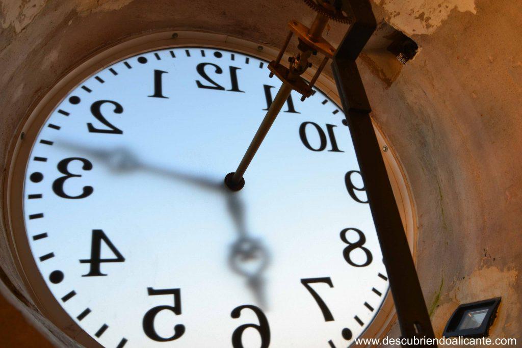 esfera Torre del Reloj de Pinoso