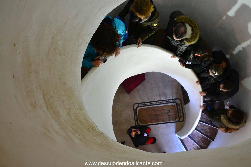 Interior Torre del Reloj de Pinoso