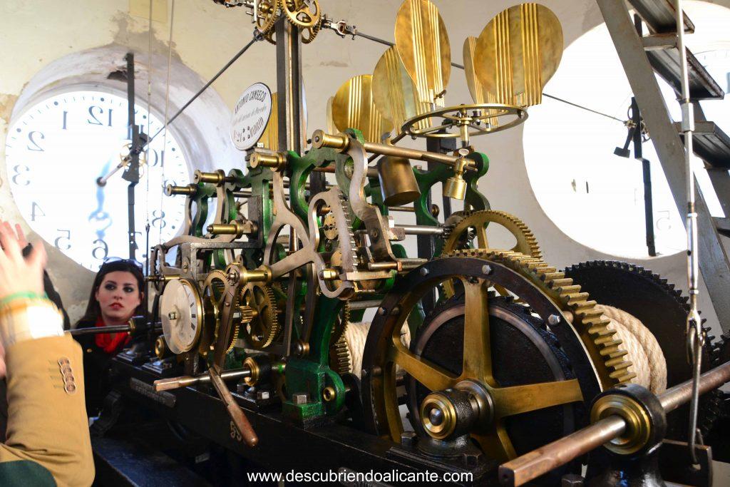 maquinaria Torre del Reloj de Pinoso