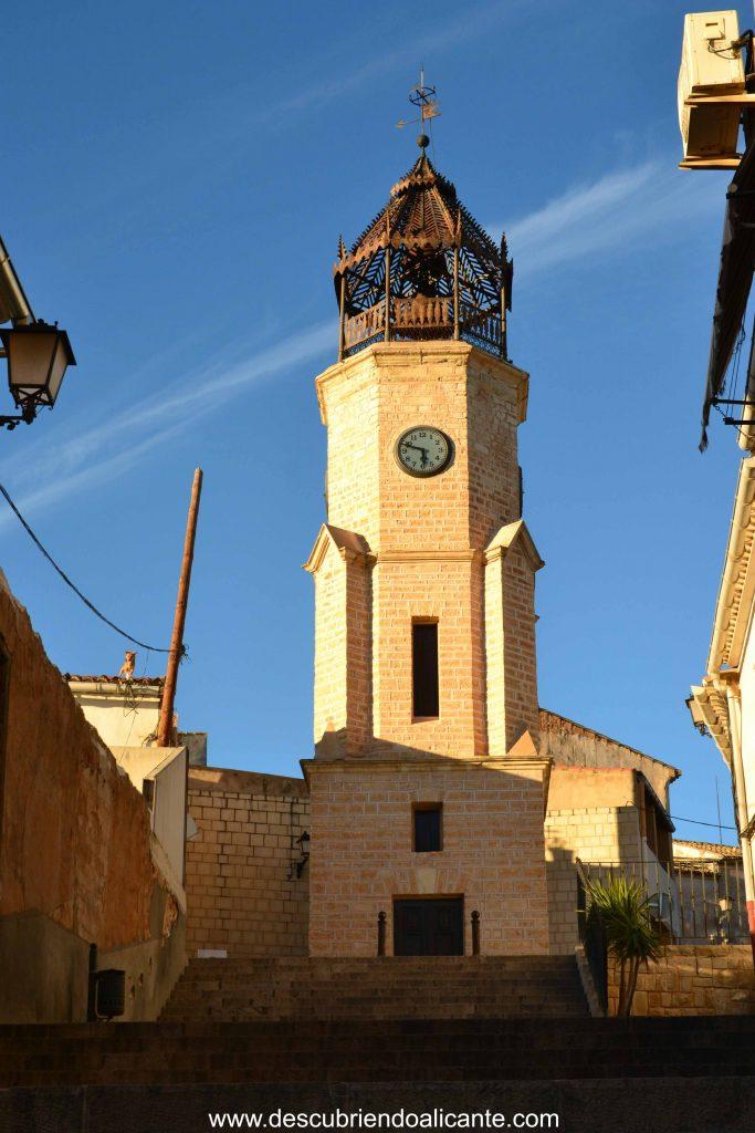 Torre del Reloj de Pinoso