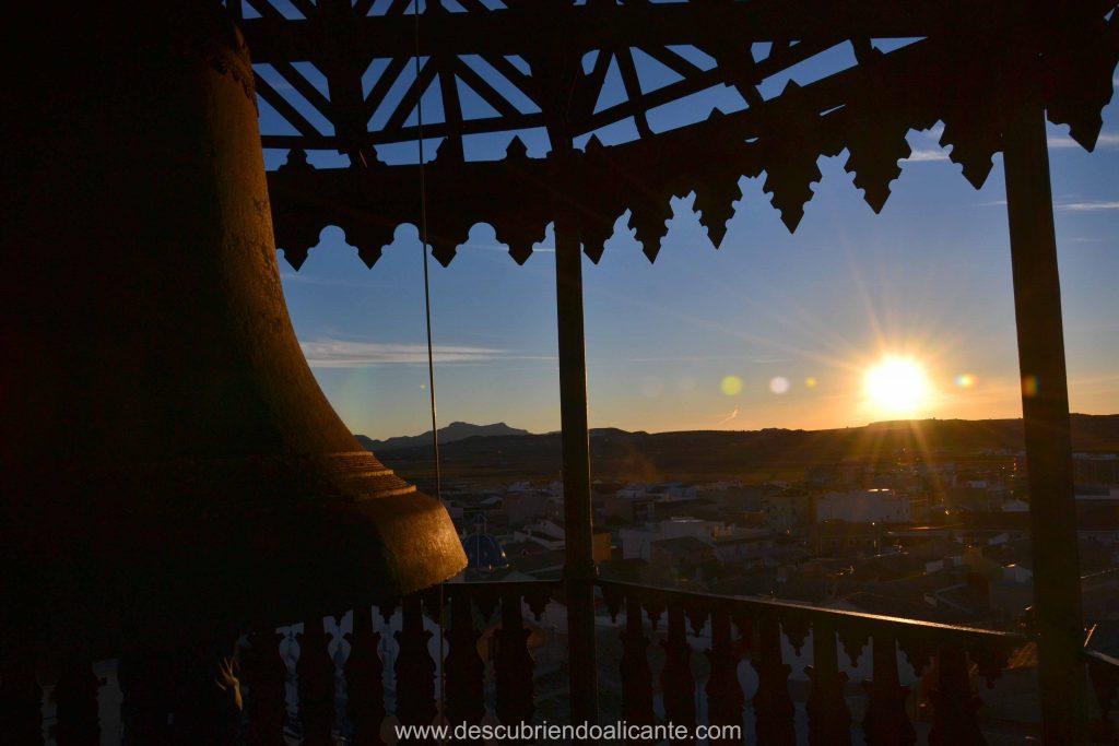 vistas desde la Torre del Reloj de Pinoso