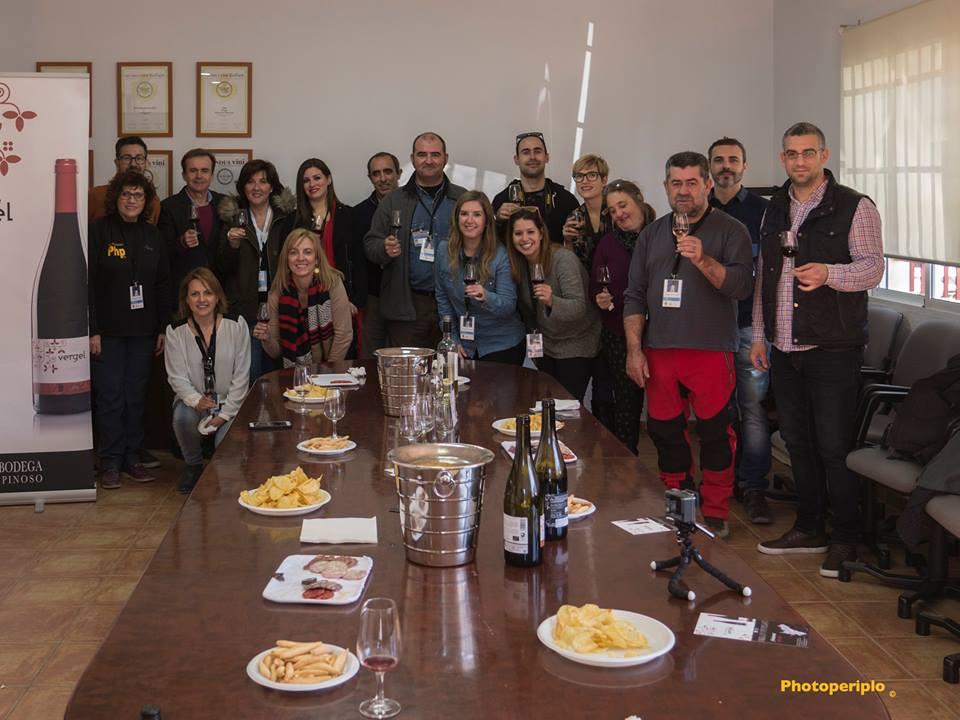 grupo cata vinos blogtrip pinoso