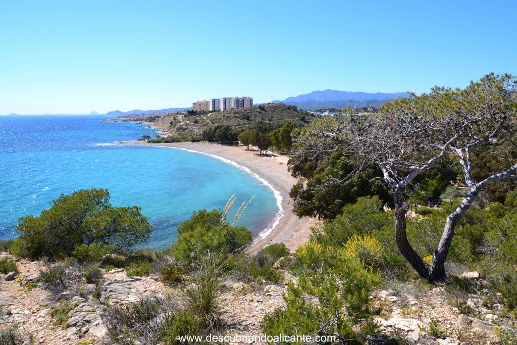 Sendero de la Costa Villajoyosa, Playa El Torres