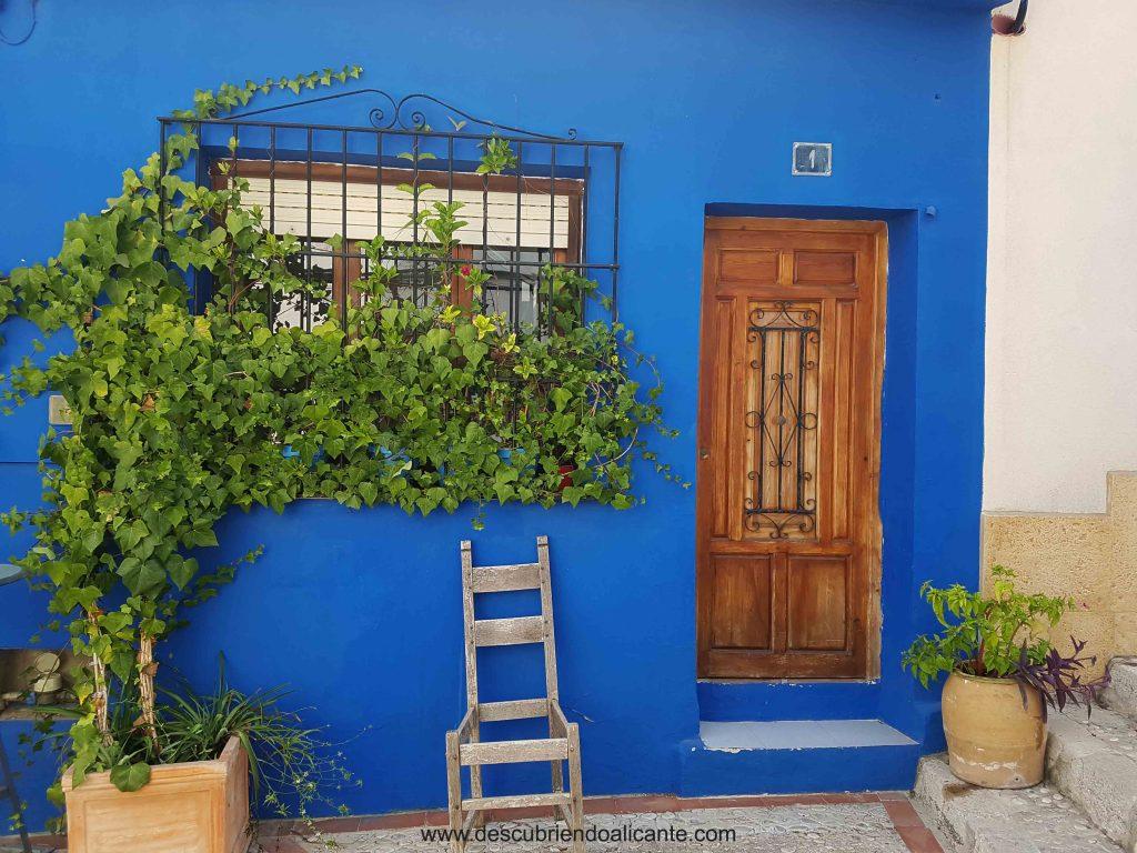 Puerta con encanto, Barrio de Roques, castillo de Dénia