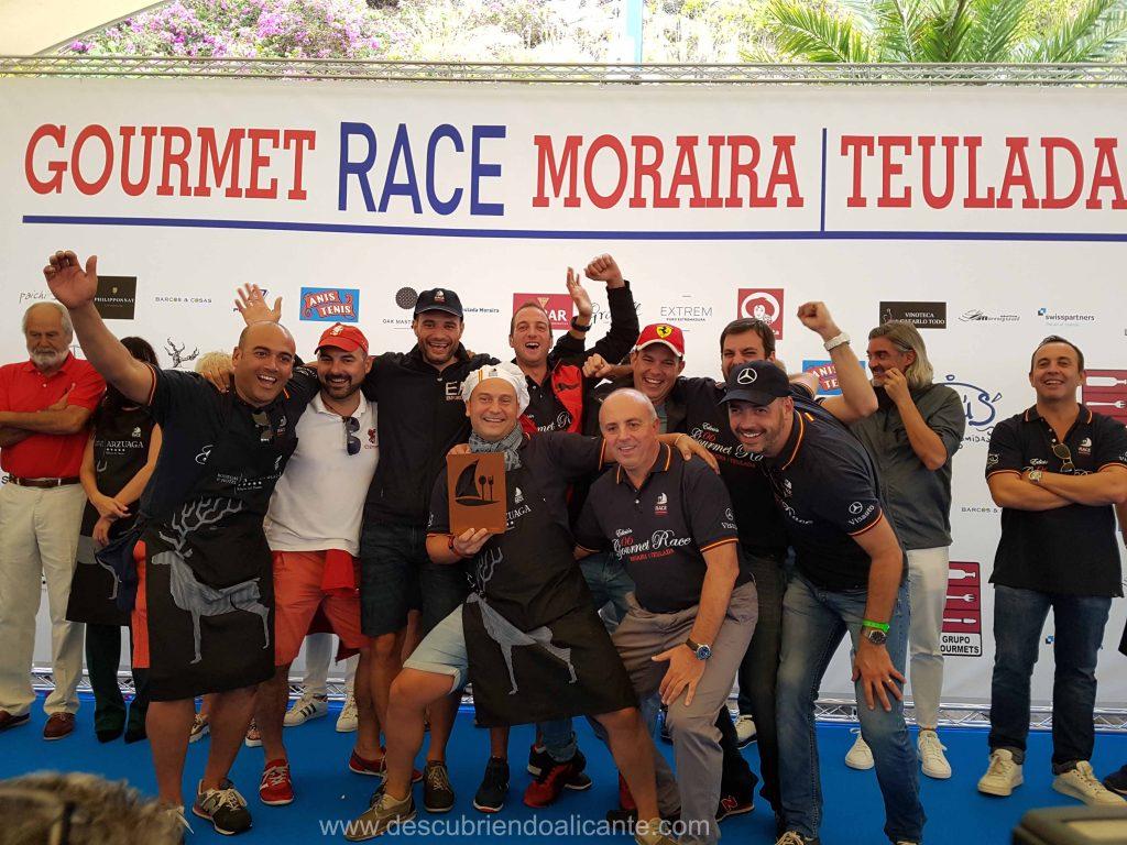 Gourmet Race Moraira 2017 Cuarto Premio