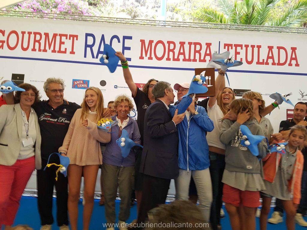 Gourmet Race Moraira 2017 Segundo Premio