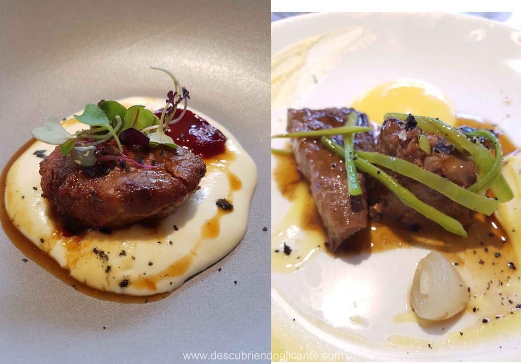 Comida en Restaurante Alfonso Mira Aspe