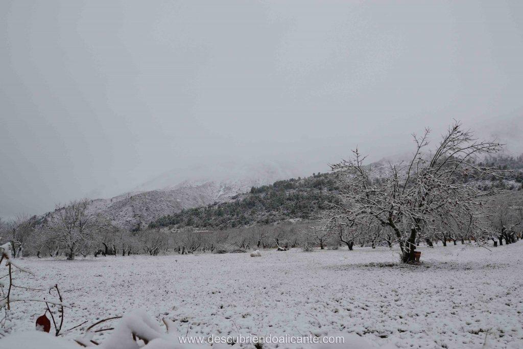 La Serrella nevada, Pla de la Casa