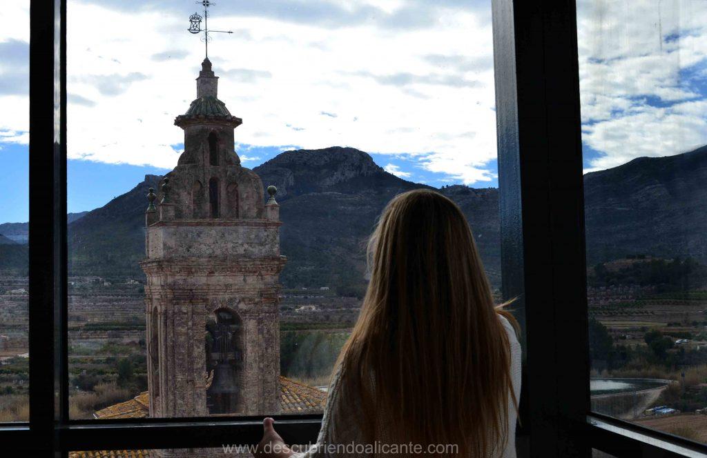 Vistas desde el mirador de Alcalali