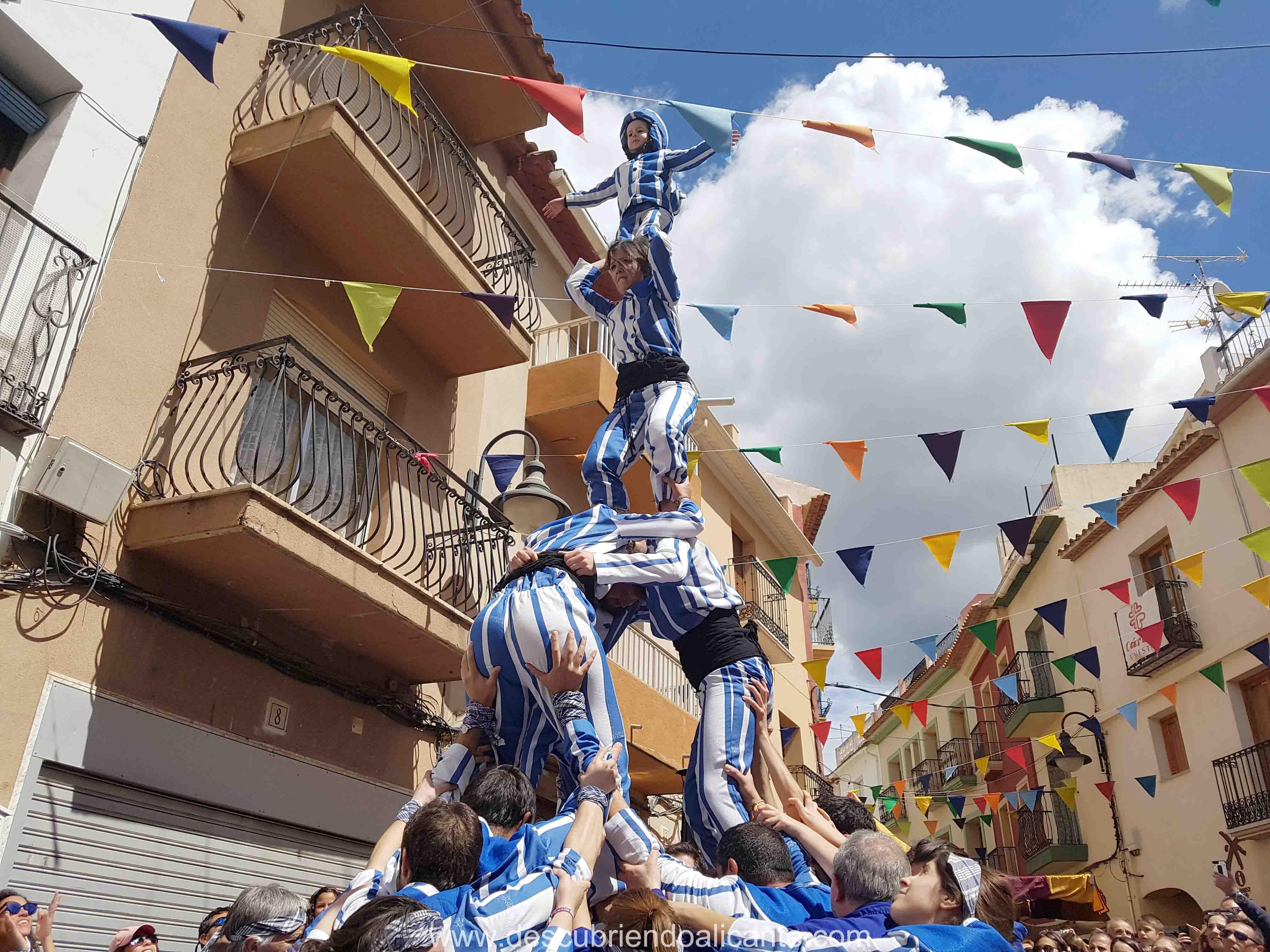 Muixeranga alacant Finestrat Igers Alicante