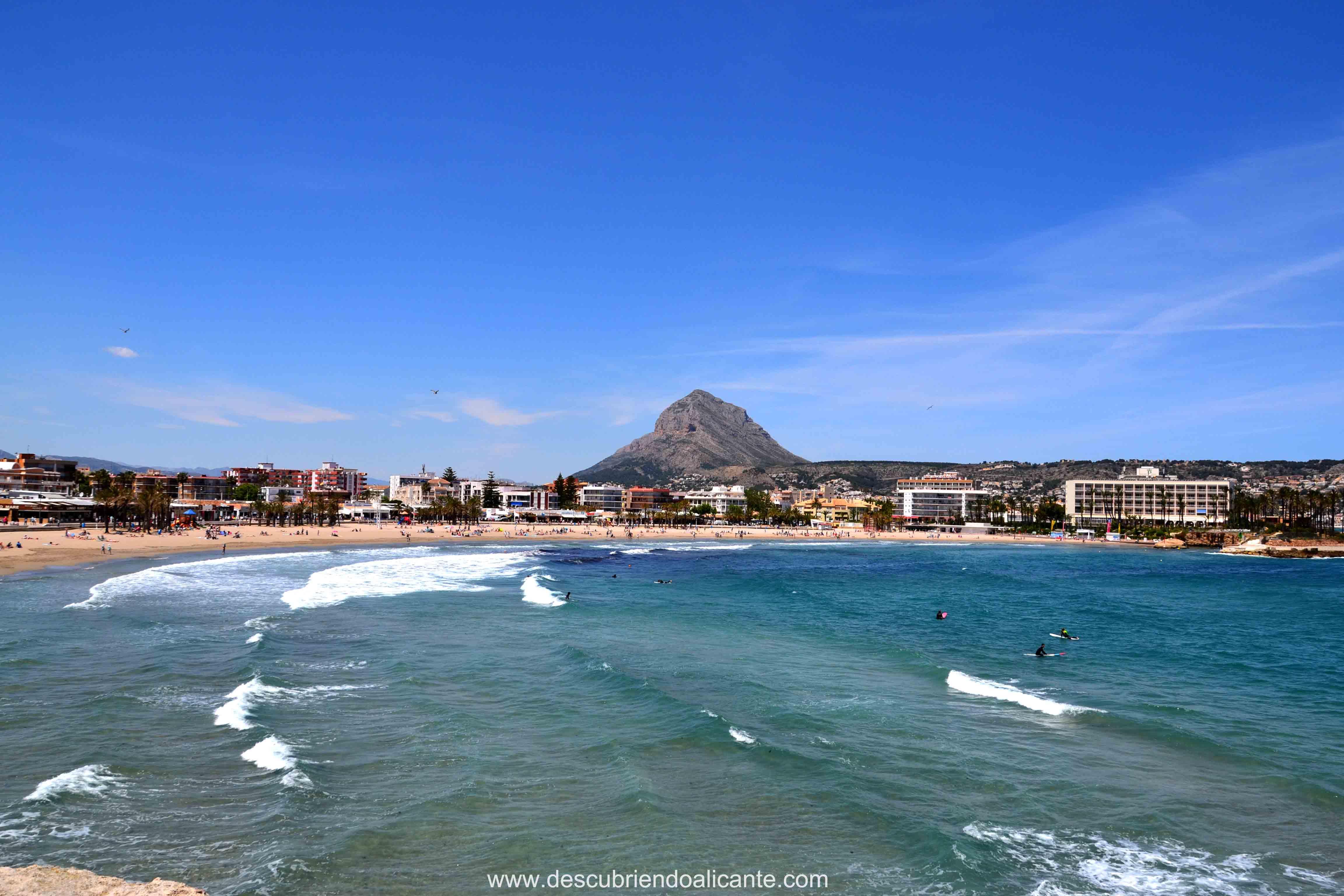 Playa Arenal Miradores de Jávea- Xabia