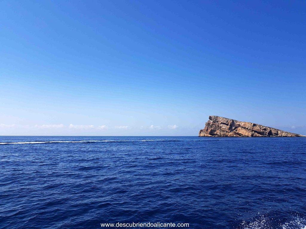 isla de benidorm, alicante
