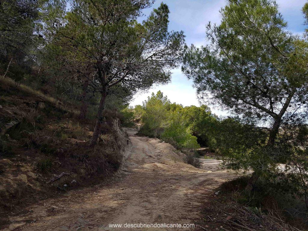 Ruta Sierra Escalona - Orihuela Alicante