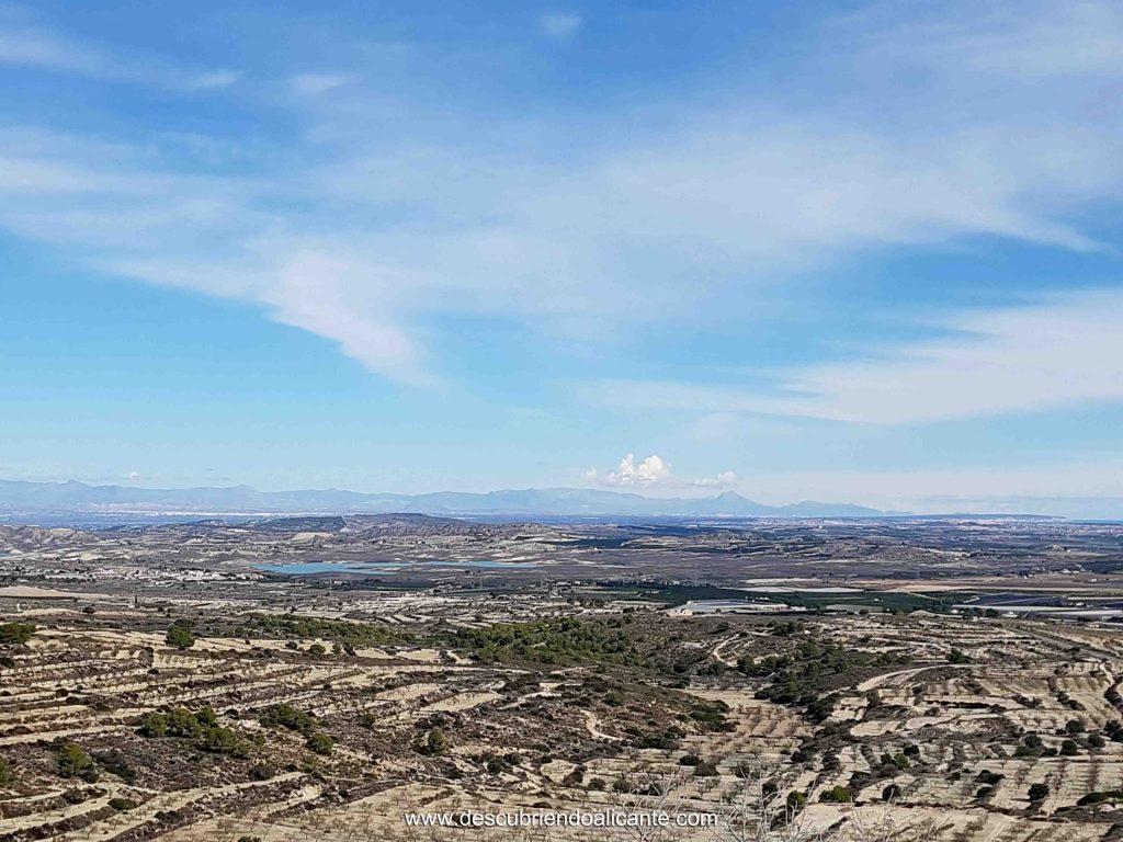 Vistas Vega Baja desde Ruta Sierra Escalona
