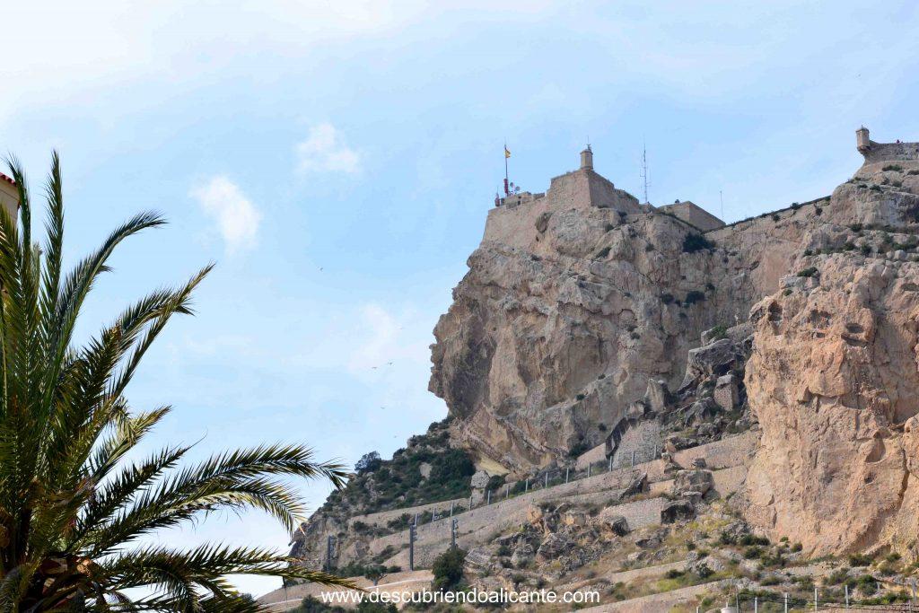 La cara del Moro, monte Benacantil Alicante